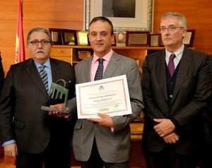Entrega de la 2ª edición de este galardón, que recayó en Bodegas Aragonesas.