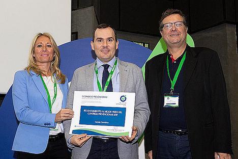 El comité científico del II Congreso Prevencionar otorga el primer premio al vídeo sobre el túnel carpiano de umivale