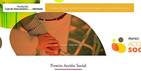 Últimos días para optar al Premio Acción Social de la Fundación Caja de Extremadura