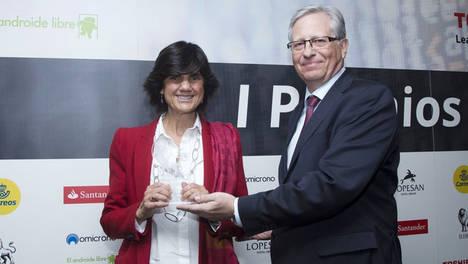 María Benjumea, fundadora de Spain Startup-South Summit, galardonada como 'Embajadora Digital'