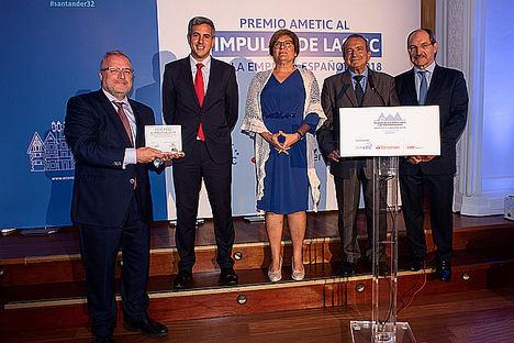 Fira de Barcelona, galardonada por AMETIC con el Premio al impulso de las TIC en la empresa española