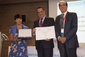 Jorge Villarino, socio y director de Regulación de Vinces, ganador del IV Premio de Investigación de la Cátedra Google CEU sobre 'Privacidad, Sociedad e Innovación'