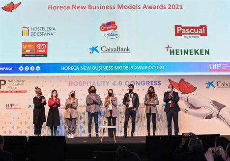 Freshperts triunfa en el HIP y recibe los premios al Mejor Desarrollo Empresarial y al Mejor Restaurante Virtual