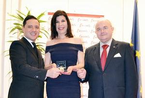 Samira Brigüech, premio Estrella de Oro del Instituto de Excelencia Profesional