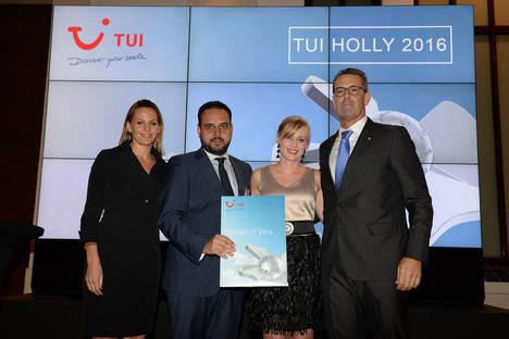 Vincci Selección La Plantación del Sur 5* (Tenerife) recibe el premio TUI Holly 2016