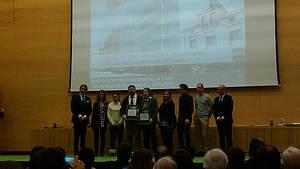 El proyecto de edificio de consumo nulo de HUNOSA logra un accésit en la gala de los premios de construcción sostenible de la Junta de Castilla y León
