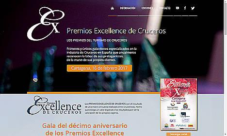 Gala del décimo aniversario de los Premios Excellence de Cruceros