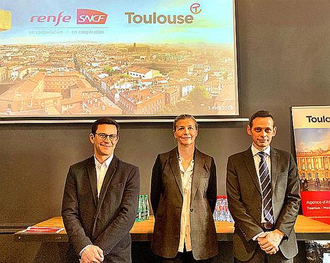 Renfe SNCF y la Oficina de Turismo de Toulouse más cerca con los trenes de Alta Velocidad de Renfe-SNCF en Cooperación