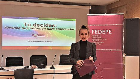 Jóvenes riojanas apuestan por el emprendimiento de la mano de FEDEPE