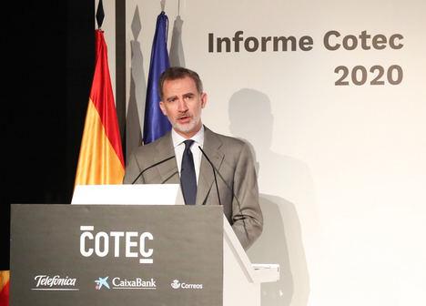 La presentación en línea del 'Informe Cotec 2020' reúne a más de medio millar de representantes de la innovación en España