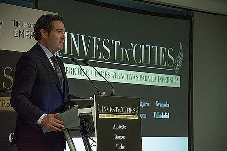 Presidente de la CEOE, Antonio Garamendi.