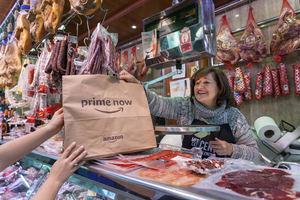 Prime Now ofrece en Valencia entregas ultra-rápidas de productos de La Plaza de DIA y de un grupo de comerciantes del Mercat Central exclusivamente a clientes Prime