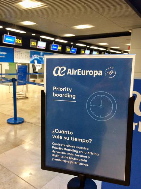 Air europa activa su servicio de facturaci n y embarque - Oficinas de air europa ...
