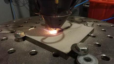 Proceso de fabricación aditiva Andrómeda.