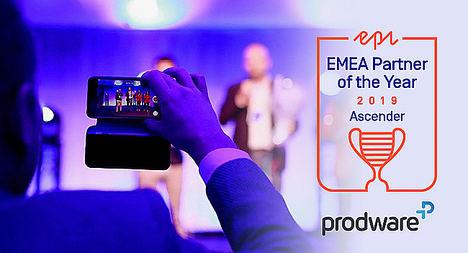 Prodware se alza como Partner del Año - Ascender en EMEA de Episerver