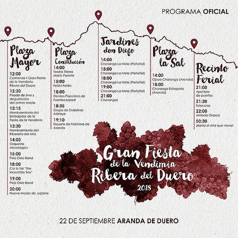 Ribera del Duero ultima los preparativos para la gran fiesta de la vendimia