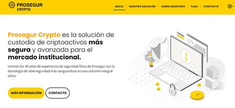 Prosegur lanza una solución de custodia de activos digitales para el mercado institucional