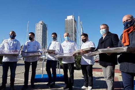 Provacuno entrega 1.000 comidas con carne de vacuno cocinadas por estrellas Michelin