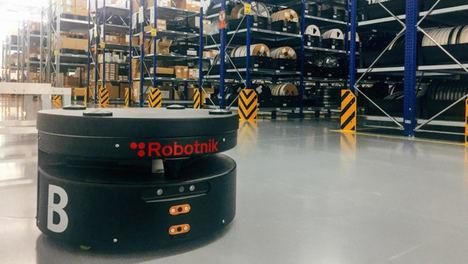 ITC-AICE participa en el desarrollo de LogiBlock para facilitar a las pymes la logística mediante robots móviles
