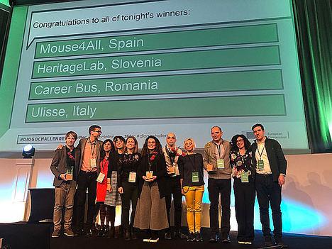 Mouse4all, Premio de Impacto 2018 en Innovación Social de la Comisión Europea
