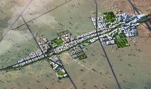 Proyecto urbanístico Konza (Kenia).