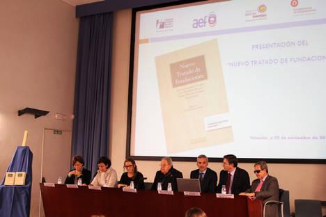 FEBF presenta en Valencia el 'Nuevo Tratado de Fundaciones'