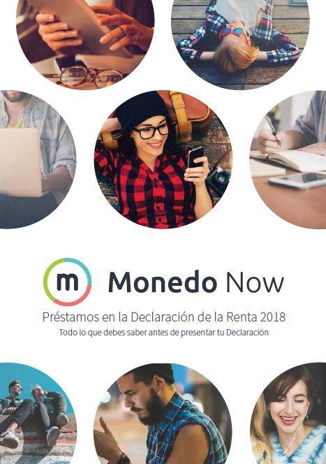 Monedo Now publica la guía 'Préstamos en la Declaración de la Renta 2018'