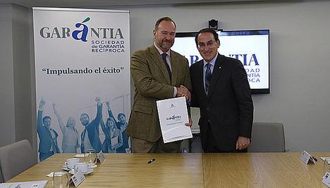 Garántia SGR y la FOE colaborarán para el impulso de la financiación de pymes en la provincia de Andalucía