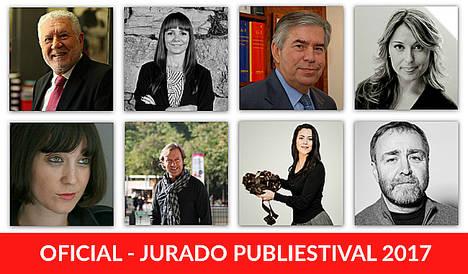 Publifestival presenta un jurado de primer nivel para 2017