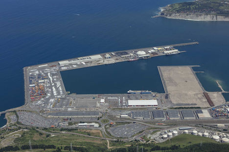 Lantania realizará la urbanización del Espigón Central de la ampliación del Puerto de Bilbao