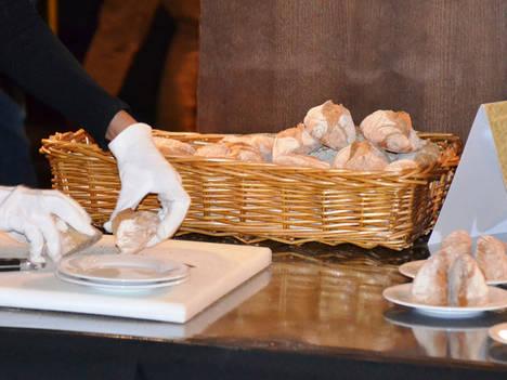 Puesta de largo del pan en Hostelco
