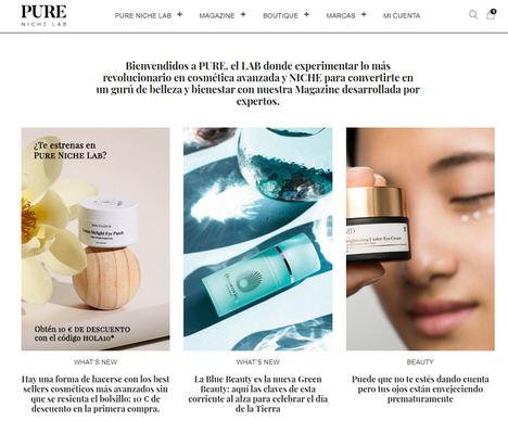Nace PURE NICHE LAB, la nueva web de cosmética nicho con marcas curadas por auténticos expertos