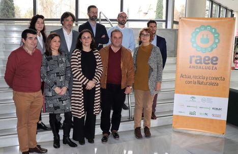 256 municipios andaluces ya están adheridos al convenio para la recogida y reciclado de aparatos eléctricos y electrónicos
