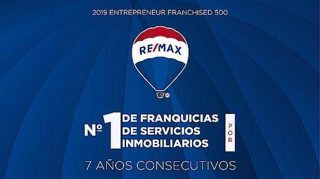 RE/MAX Internacional, nombrada la franquicia inmobiliaria número 1 a nivel mundial por séptimo año consecutivo