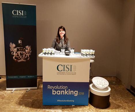 Rosa Mateus, directora CISI España, en Revolution Banking.