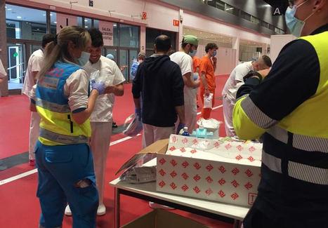 RS Components ayuda al hospital de campaña de IFEMA con material de protección individual