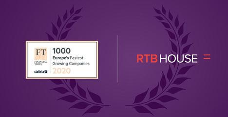 RTB House, elegida nuevamente como una de las compañías europeas que más rápido crece