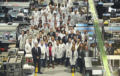 Indra inaugura la mayor fábrica de radares de España y una de las mayores de Europa