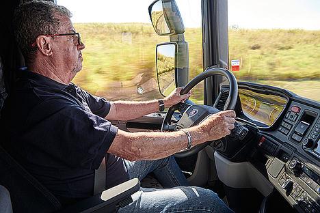 Los transportistas españoles practican el doble de ejercicio físico que en 2017