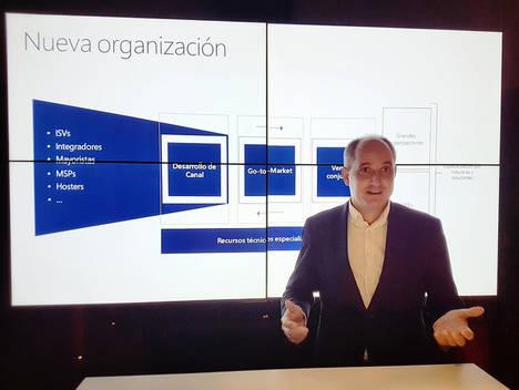 Microsoft reorganiza su estructura de canal para facilitar el crecimiento de sus partners