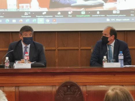 Rafael Catalá anima a los empresarios a acudir a la mediación ante la previsible saturación del sistema judicial