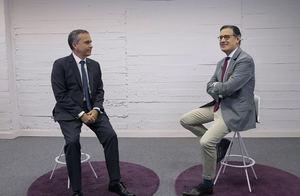 Rafael García Meiro, CEO de AENOR y José Antonio Llorente, presidente de LLYC.