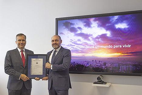 FCC Construcción, pionera en obtener el certificado ISO 44001 por AENOR de relaciones colaborativas