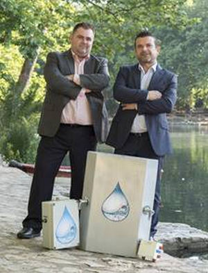 Rafael Rodrigo y Francisco Pelegero, IDI Smartwater®.