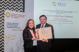 Rafael Ruiz Calatrava, premio SESST 2018.