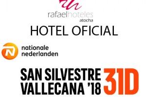 Rafaelhoteles Atocha, de nuevo Hotel Oficial de la NN San Silvestre Vallecana