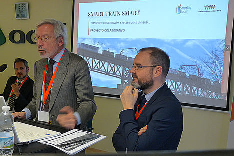 Railway Innovation Hub y el clúster Smart City inician el proyecto 'Smart Train Smart' para aplicar tecnologías avanzadas al tráfico de mercancías por ferrocarril
