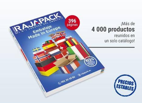 El 92,5% de los productos de Rajapack proceden de Europa
