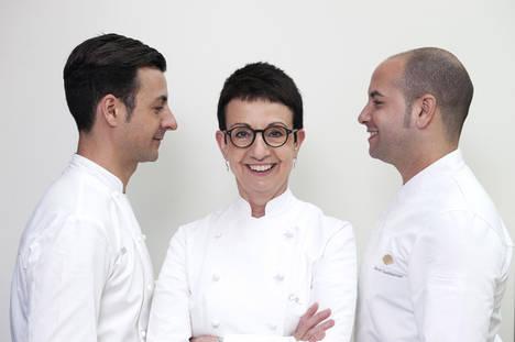 Raül Balam, Carme Ruscalleda y Alberto Castiñeiras.