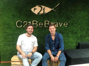 Raúl Hita y Rafa Muñoz, fundadores de C21BeBrave.